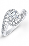 Natalie K Belle Engagement Ring NK26232-W