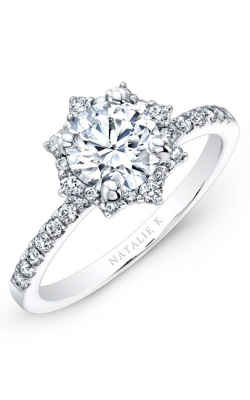 Natalie K Engagement ring NK26674-W