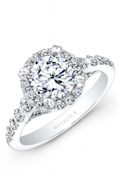 Natalie K Eternelle Collection Engagement Ring NK25369-18W product image