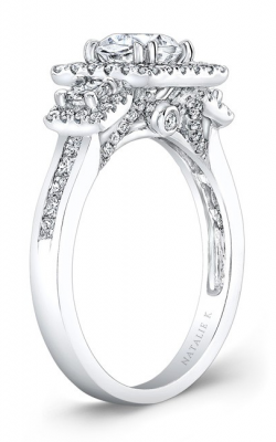 Natalie K Trois Diamants Collection Engagement Ring NK28369-18W product image