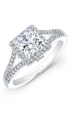 Natalie K Princesse Engagement Ring NK28084-18W