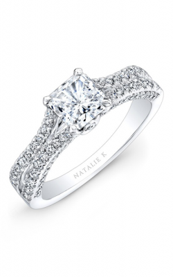 Natalie K Princesse Engagement Ring NK28057-18W