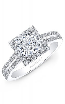 Natalie K Princesse Engagement Ring NK28103-18W