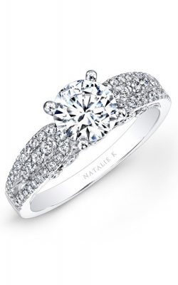 Natalie K Renaissance Collection Engagement Ring NK25806-W product image