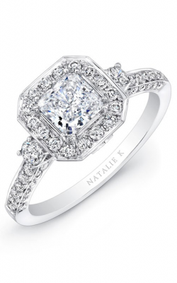 Natalie K Renaissance Collection Engagement Ring NK27063-18W product image