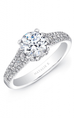 Natalie K Renaissance Collection Engagement ring NK25692-18W product image