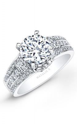 Natalie K Classique Collection Engagement Ring NK25696-W product image