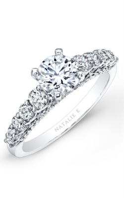 Natalie K Classique Collection Engagement Ring NK25799-W product image