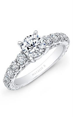 Natalie K Classique Collection Engagement Ring NK10409-18W product image