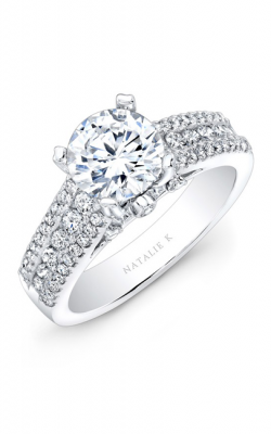 Natalie K Classique Collection Engagement Ring NK19002-W product image