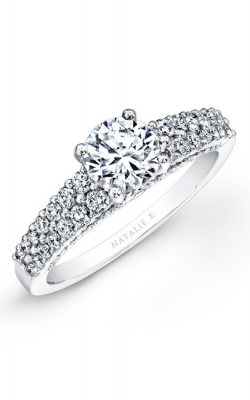 Natalie K Belle Collection Engagement Ring NK25808-W product image