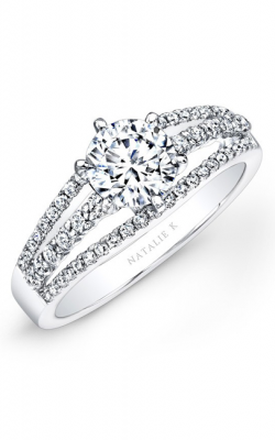 Natalie K Belle Collection Engagement Ring NK25842-W product image