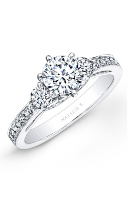 Natalie K Trois Diamants Engagement Ring NK25238ENG-W