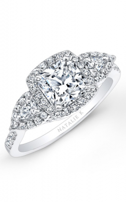 Natalie K Trois Diamants Collection Engagement Ring NK25804-W product image