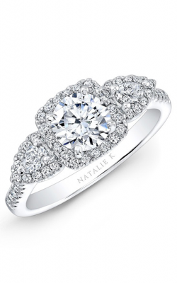 Natalie K Trois Diamants Collection Engagement Ring NK28594-18W product image