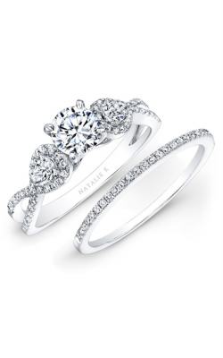 Natalie K L'Amour Collection Engagement Ring NK25434WE-W product image