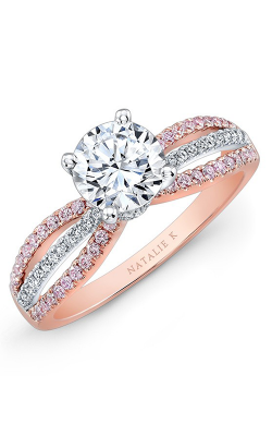 Natalie K Engagement ring NK28687PK-18WR