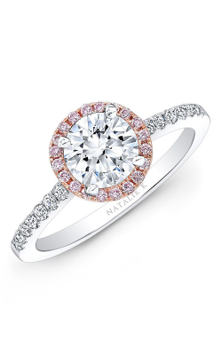 Natalie K Engagement ring NK28669PK-18WR