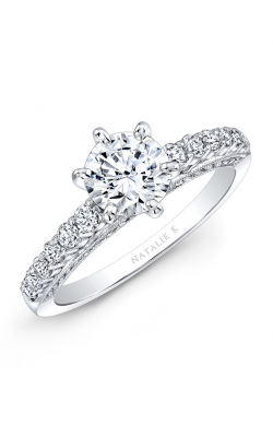 Natalie K Classique Collection Engagement Ring NK27715-18W product image