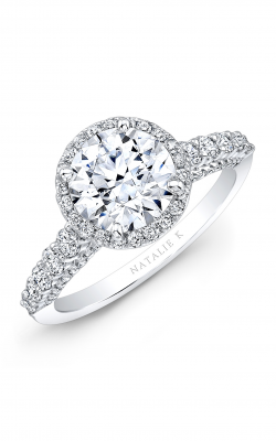 Natalie K Eternelle Collection Engagement ring NK28659-18W product image