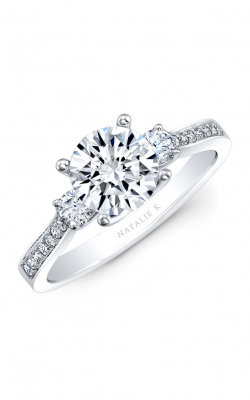 Natalie K Trois Diamants Engagement Ring NK29675-18W