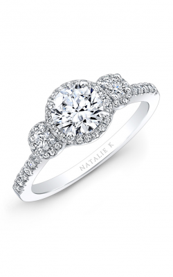 Natalie K Trois Diamants Collection Engagement Ring NK28739-18W product image