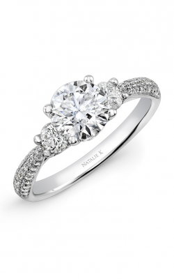 Natalie K Trois Diamants Engagement Ring NK29611-18W