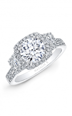 Natalie K Trois Diamants Engagement Ring NK28712-18W