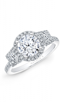 Natalie K Trois Diamants Engagement Ring NK28711-18W