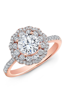 Natalie K Le Rose Engagement Ring NK29672AZD-R