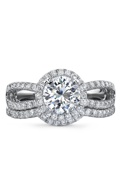 Natalie K L'Amour Collection Engagement Ring NK18592WE-18W product image