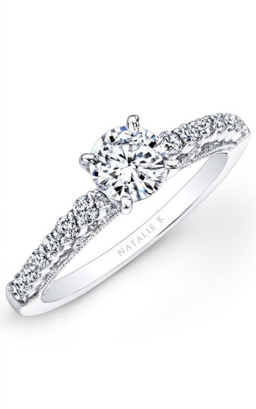 Natalie K Renaissance Collection Engagement ring NK25849ENG-W product image