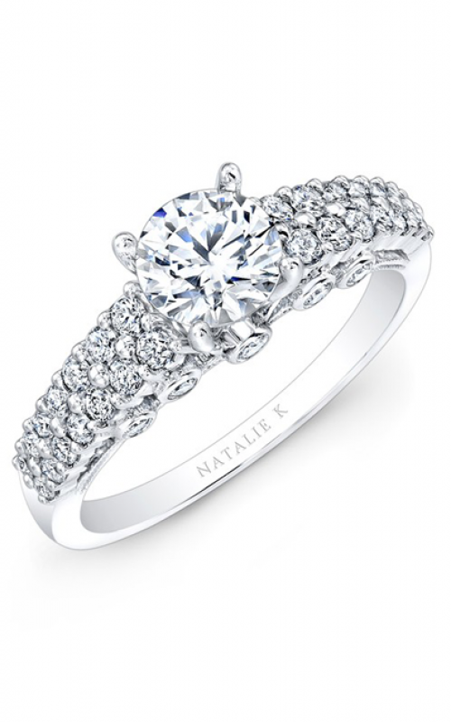 Natalie K Renaissance Collection Engagement ring NK25814-18W product image