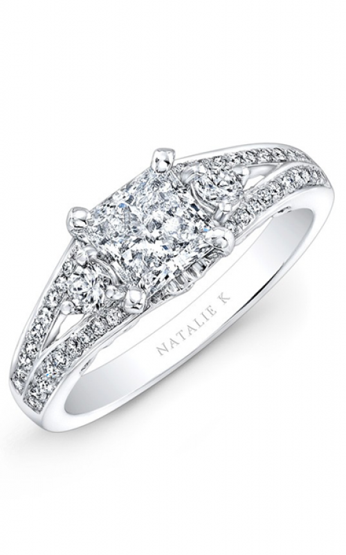Natalie K Renaissance Collection Engagement ring NK26630-18W product image