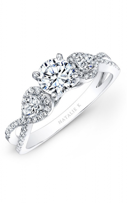 Natalie K Classique Collection Engagement ring NK25434ENG-W product image