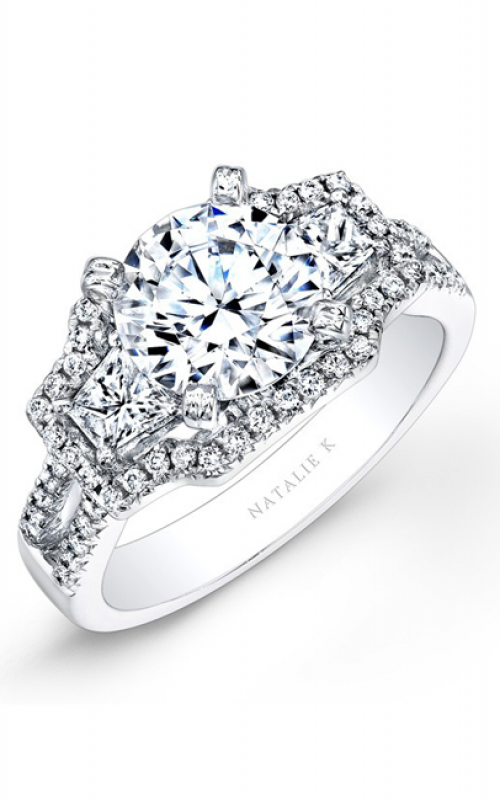 Natalie K Classique Collection Engagement ring NK25646-W product image