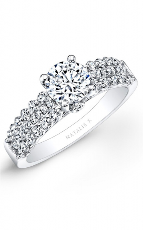 Natalie K Classique Collection Engagement ring NK25914-W product image