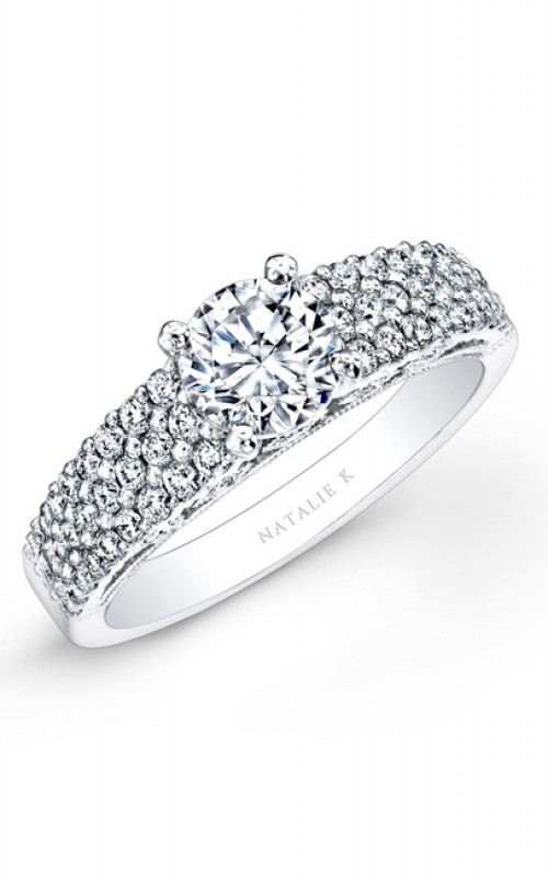 Natalie K Classique Collection Engagement ring NK26124-W product image