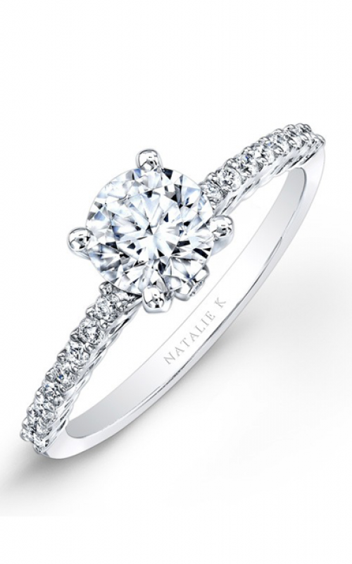 Natalie K Classique Collection Engagement ring NK26151-W product image