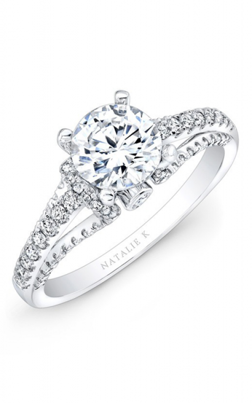 Natalie K Classique Collection Engagement ring NK25791-W product image