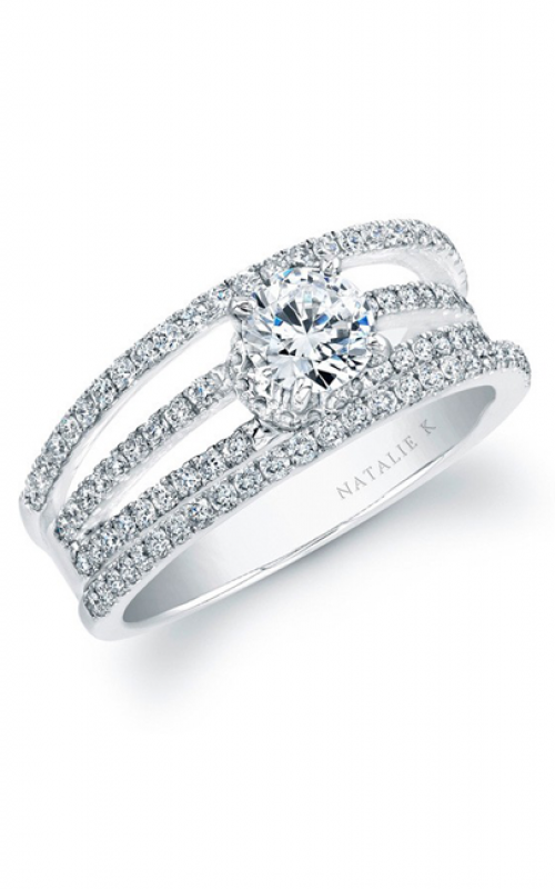 Natalie K Belle Collection Engagement ring NK17707-W product image