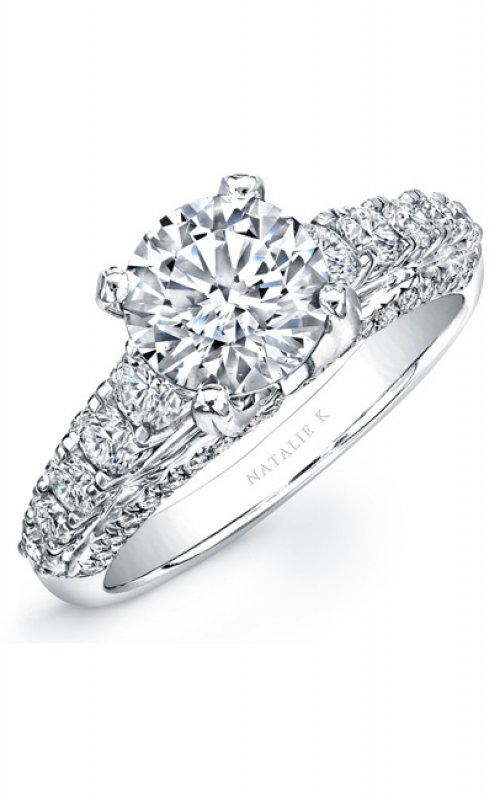 Natalie K Belle Collection Engagement ring NK25245-W product image