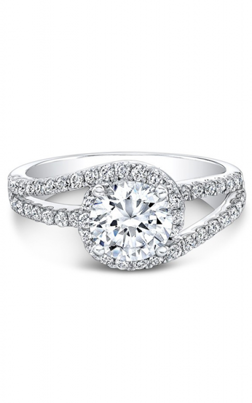 Natalie K Belle Collection Engagement ring NK19249-18W product image