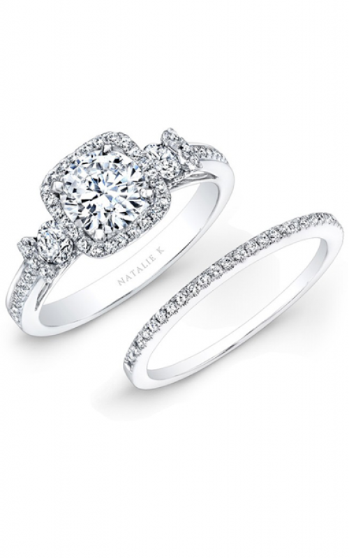 Natalie K L'Amour Collection Engagement ring NK25537WE-W product image