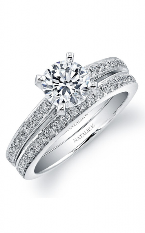 Natalie K L'Amour Collection Engagement ring NK8557WE-W product image