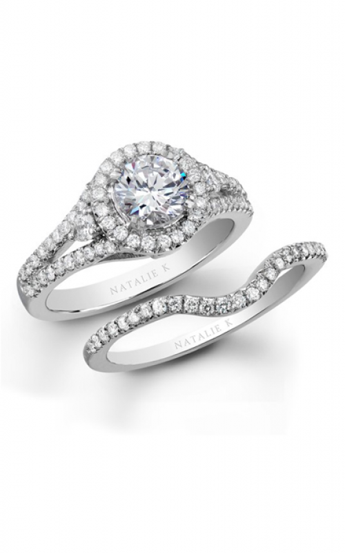 Natalie K L'Amour Collection Engagement ring NK19453WE-W product image