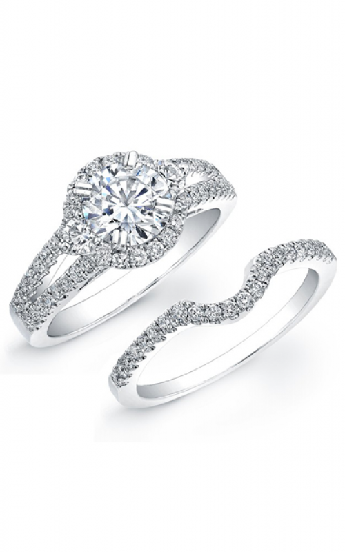 Natalie K L'Amour Collection Engagement ring NK19006WE-W product image