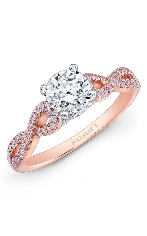 Natalie K Le Rose  Engagement ring NK28670PK-18RW product image
