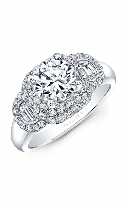 Natalie K Belle Collection Engagement ring NK33419AZD-W product image