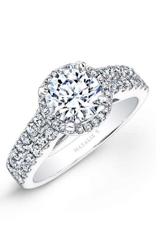 Natalie K Eternelle Collection Engagement ring NK25876-18W product image